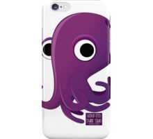 Googly-eyed stubby squid iPhone Case/Skin