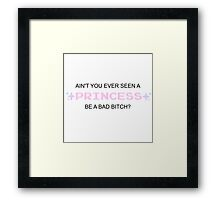 BAD DECISIONS  Framed Print