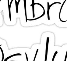 Ambrose Asylum Sticker