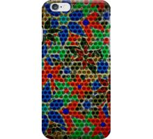 Retro Trendy Floral Pattern iPhone Case/Skin