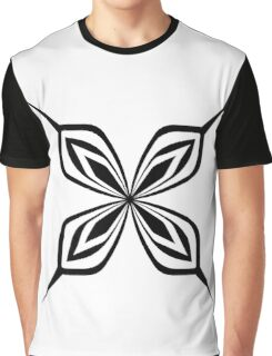 Sui-Feng Butterfly Graphic T-Shirt