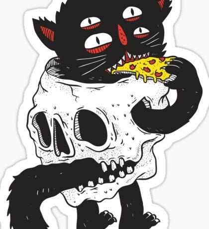 CatnSkull Sticker