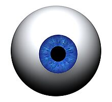 Blue Eye Photographic Print