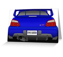 WRX STI Greeting Card