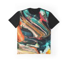 Wild Colorful Abstract Background Graphic T-Shirt