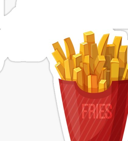 Lord of the Fries Sticker