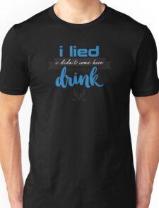 a quick drink Unisex T-Shirt