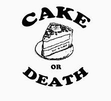 Cake or Death Unisex T-Shirt