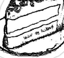 Cake or Death Sticker