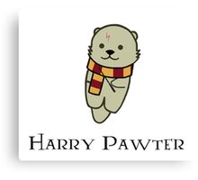 Harry Pawter Canvas Print