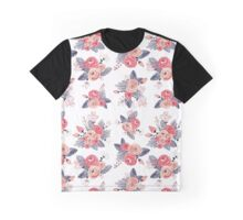 Vintage Rose Bouquets Graphic T-Shirt