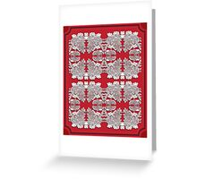 Asia inspired Greeting Card
