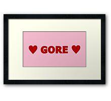Gore 6 Framed Print