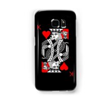 KING OF HEARTS (RED AND BLACK) Samsung Galaxy Case/Skin