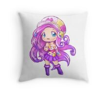 Chibi Arcade Miss Fortune Throw Pillow