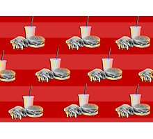 The Fast Food Life Photographic Print