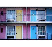 Motel 1 Photographic Print