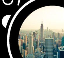 City Camera Sticker