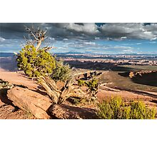 Clouds over Canyonlands Photographic Print