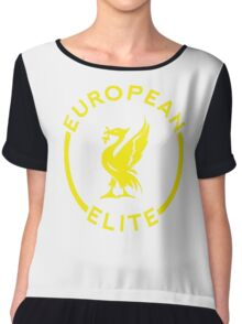 European Elite - Liverpool FC - Yellow Chiffon Top