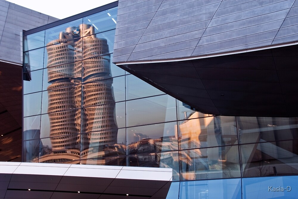 Reflected Building by Kasia-D