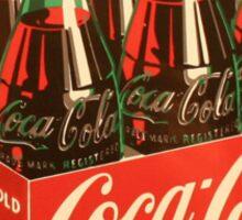 Coca Cola the best! Sticker