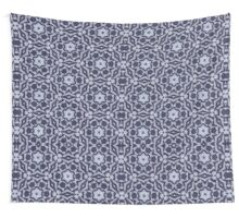 Knitted Tiles Pattern Wall Tapestry