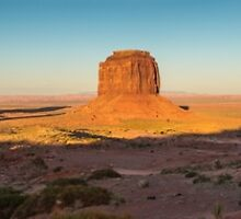Monument Valley Sunset Panorama by TomGreenPhotos