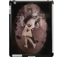 Kisses at the End of the War iPad Case/Skin