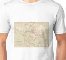 Vintage Map of The World (1898) Unisex T-Shirt