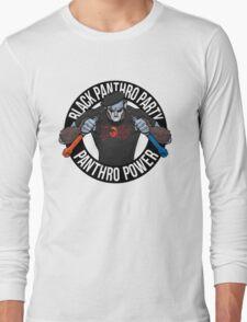 Black Panthro Party Long Sleeve T-Shirt