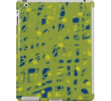 Green neon iPad Case/Skin