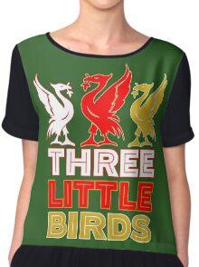 Three Little Birds Chiffon Top