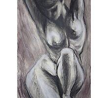 Kneeling 3 -  Female Nude Photographic Print