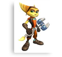 Ratchet and Clank 2 Metal Print
