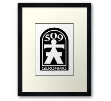 509th Airborne Infantry - Geronimo Framed Print