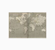 Vintage Map of the World (1820) 2 Unisex T-Shirt