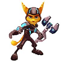 Ratchet and Clank 1 Photographic Print