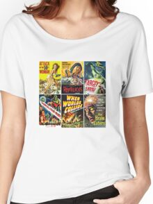 Vintage Sci-Fi Movie Poster Art Collection #1 Women's Relaxed Fit T-Shirt