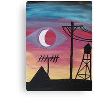 Welcome To Night Vale Canvas Print
