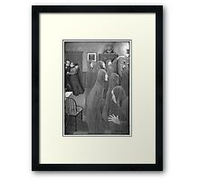 Long Arm Ghost – The Wind in the Rose-Bush (Freeman, Mary Eleanor Wilkins) Framed Print