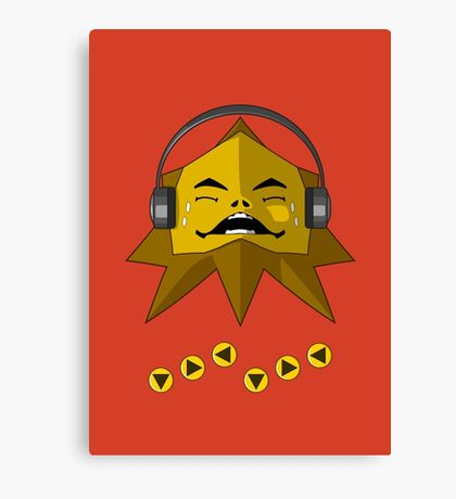 Hot Goron Beats Canvas Print
