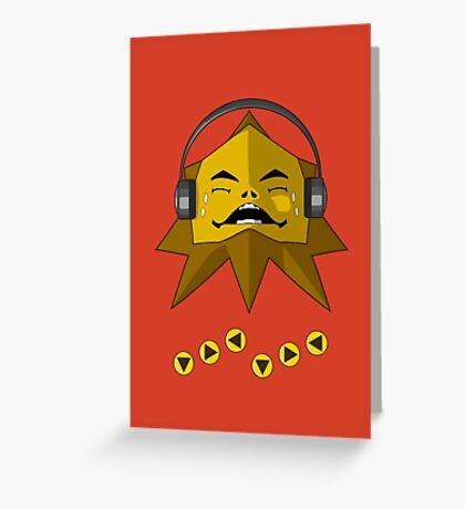 Hot Goron Beats Greeting Card
