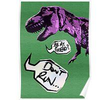 Lonley Dino Poster