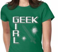GEEK GIRL - Adventure Womens Fitted T-Shirt