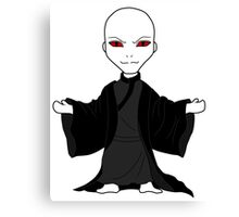 Chibi  Lord Voldemort Canvas Print