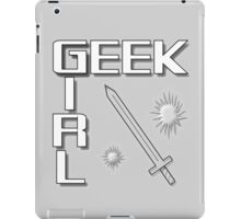 GEEK GIRL - Adventure iPad Case/Skin