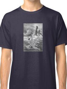 Blown Up Astronaut – Under the Waves (Ballantyne, Robert Michael) Classic T-Shirt