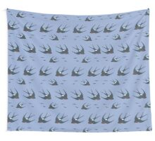 Swallow Pattern Wall Tapestry