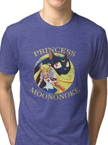 Princess MOONonoke Tri-blend T-Shirt